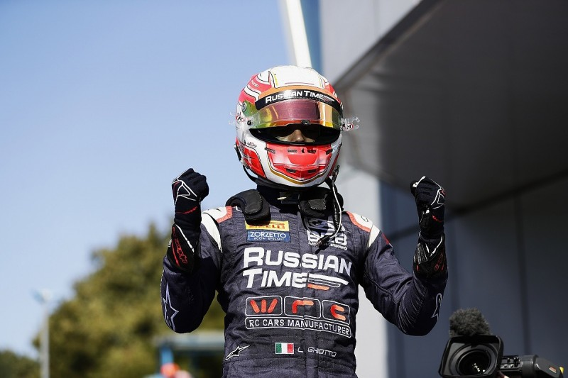 Monza F2: Ghiotto surges to victory as title rivals fail to score