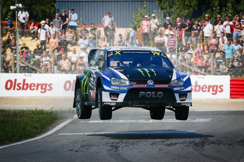 World RX France: Kristoffersson scores pole and extends points lead