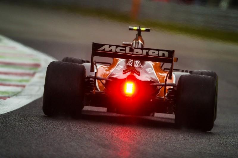 Stoffel Vandoorne's McLaren-Honda suffered loss of power in Monza Q3