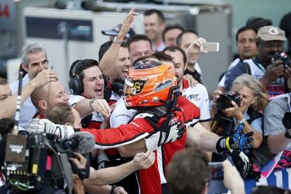 Abu Dhabi GP3: Esteban Ocon beats Luca Ghiotto to title, Palou wins