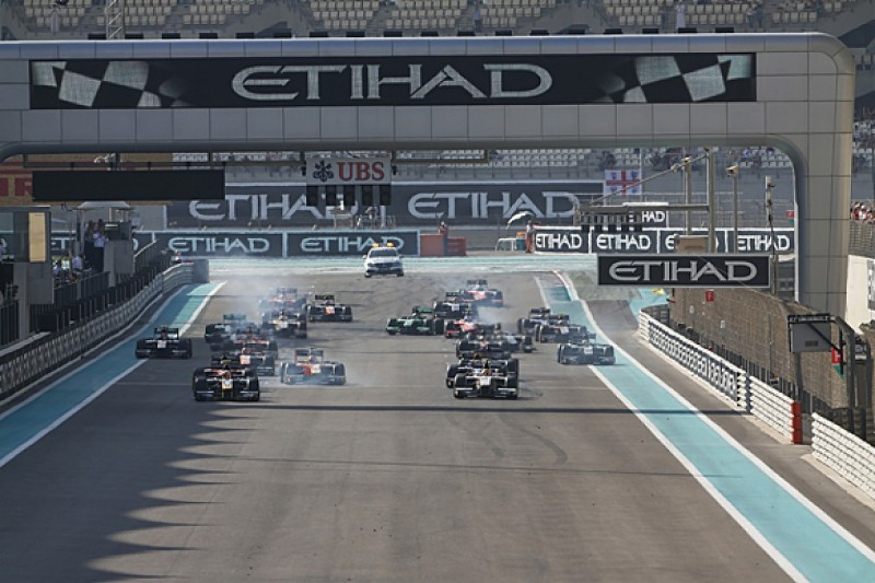 Abu Dhabi GP2 finale cancelled after first-lap crash