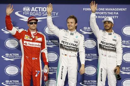 Nico Rosberg takes sixth straight F1 pole in Abu Dhabi GP qualifying