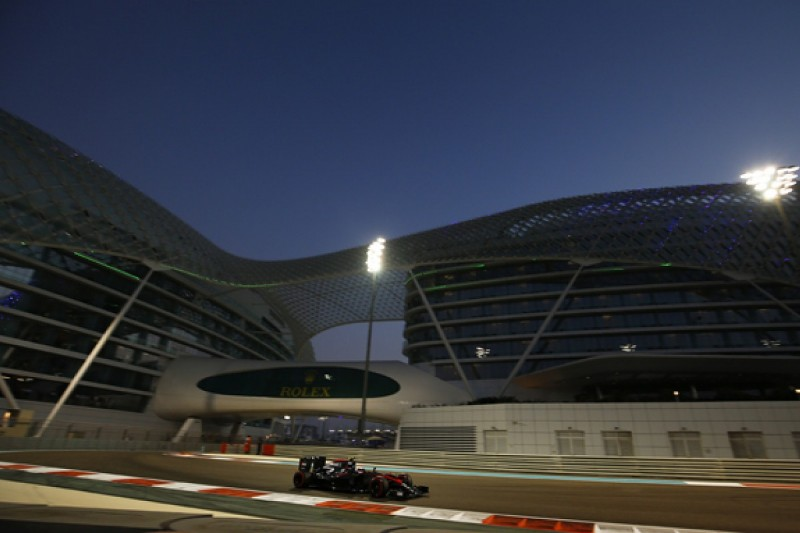 McLaren F1 car the best it has felt all year in Abu Dhabi - Button