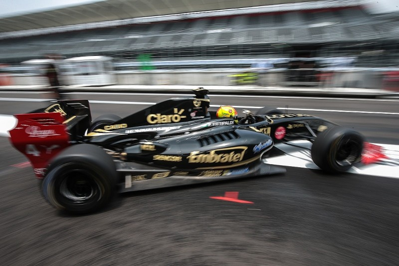 FV8 3.5 Mexico: Lotus' Pietro Fittipaldi takes pole for race one