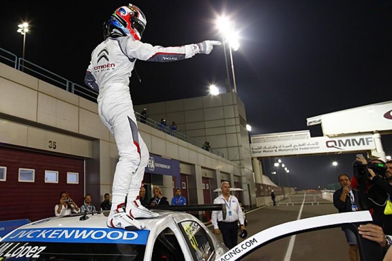 Qatar WTCC: Citroen's Jose Maria Lopez dominates first night race