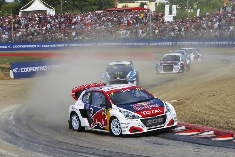 World RX France: Sebastien Loeb on top on Saturday