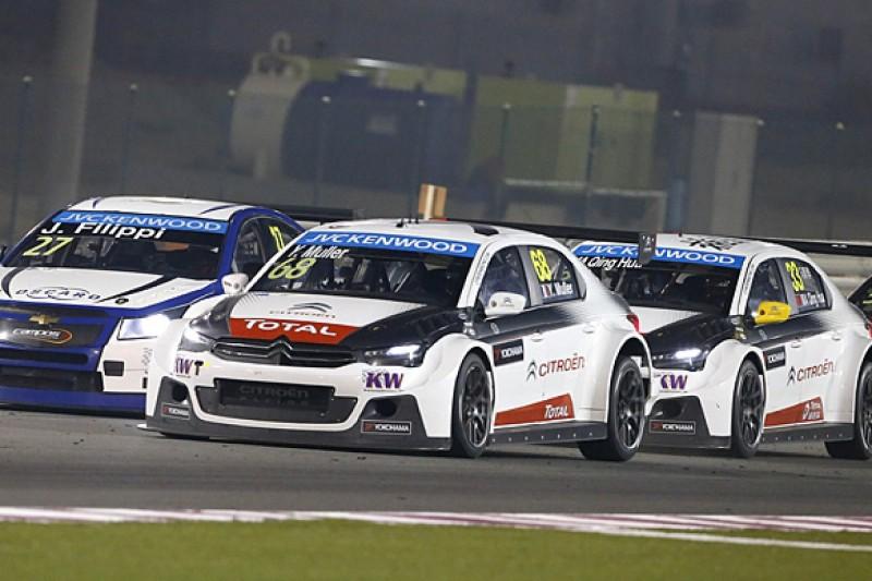 Qatar WTCC: Yvan Muller win denies Sebastien Loeb runner-up honours