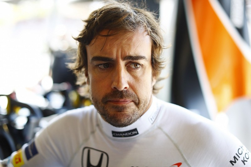 Fernando Alonso says resurfaced Monza straight not to F1 standards
