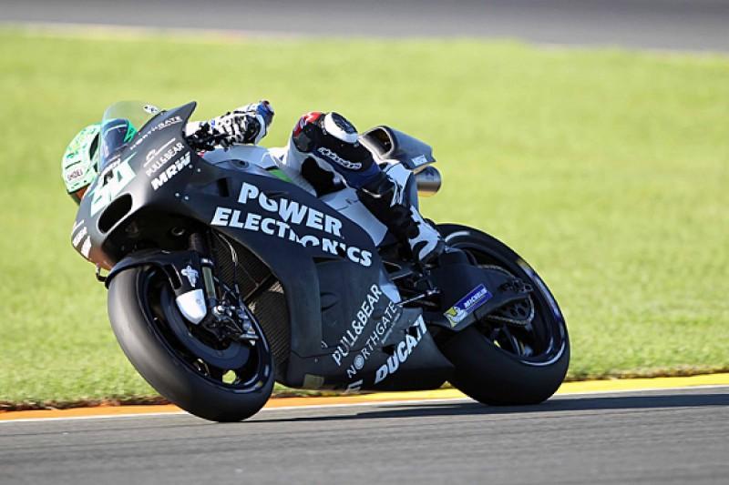 Aspar Ducati MotoGP rider Eugene Laverty has surgery after crash
