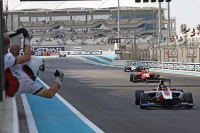 Abu Dhabi GP3: Kirchhofer wins after points leader Ocon penalised