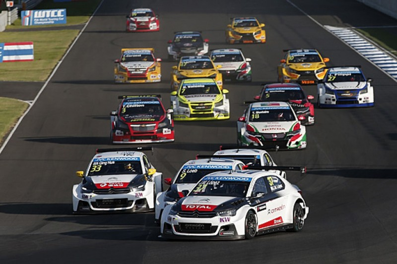 WTCC race format to change for 2016