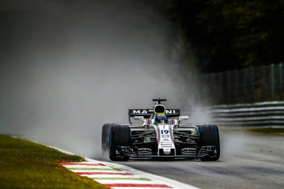 Felipe Massa fastest as Monza F1 Saturday practice is near-washout