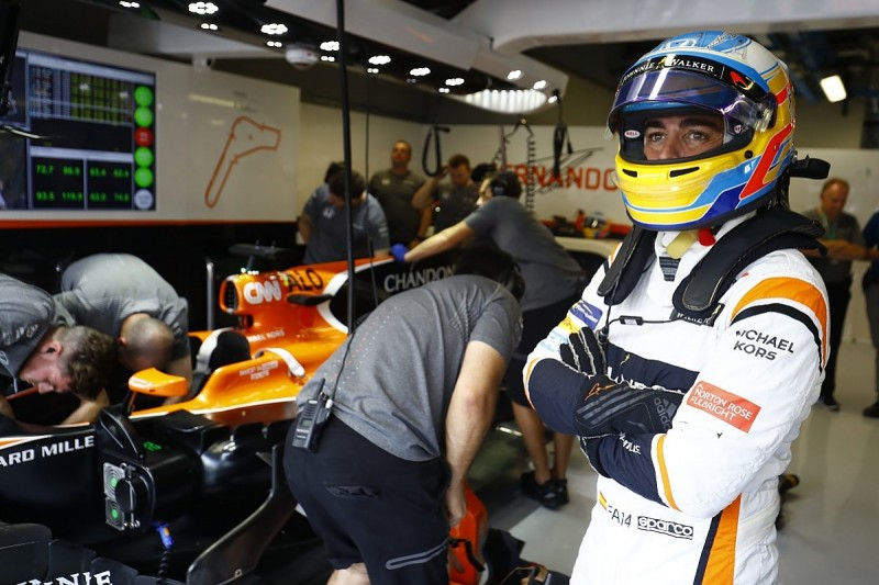 McLaren F1 driver Fernando Alonso has options to win races in 2018