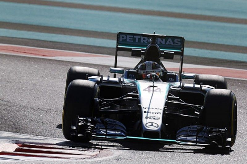 Abu Dhabi GP: Lewis Hamilton tops first F1 practice