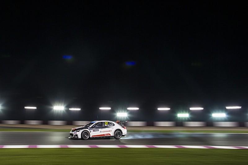 Qatar WTCC: Jose Maria Lopez dominates night practice for Citroen