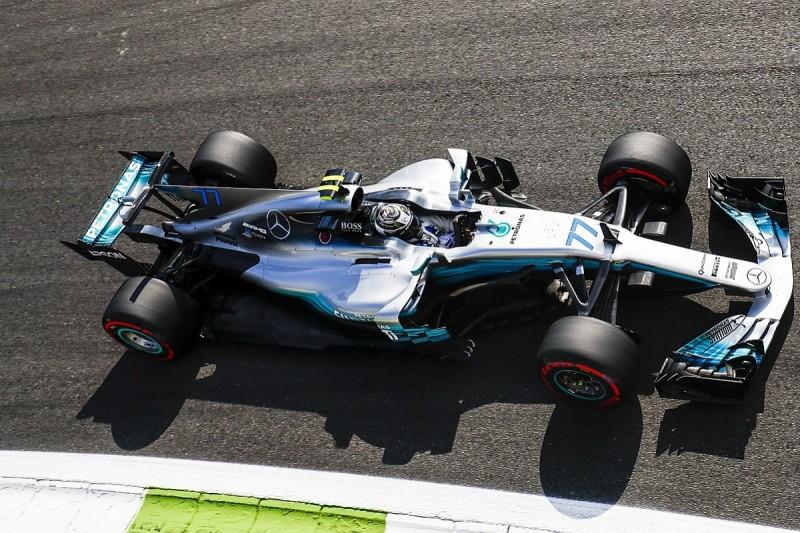 Italian Grand Prix: Bottas beats Hamilton in second Monza practice