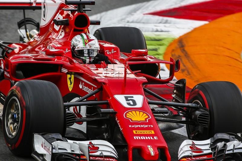 Sebastian Vettel lacked confidence in his Ferrari in Monza practice