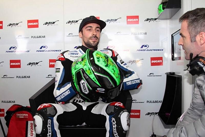 Aspar Ducati's Eugene Laverty injured in Jerez MotoGP test crash