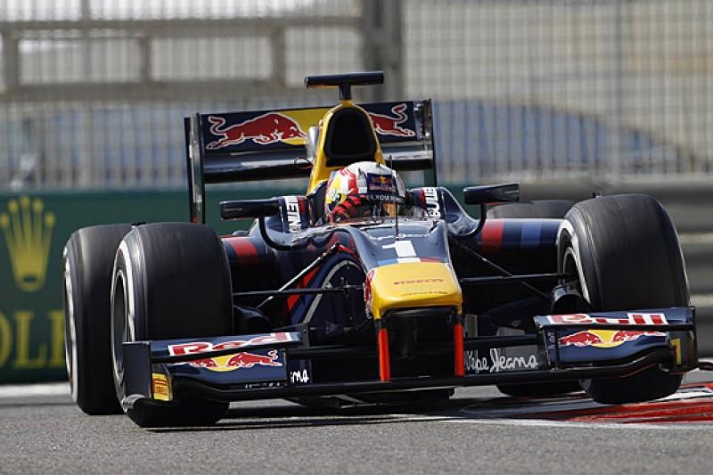 Abu Dhabi GP2 practice: Red Bull's Gasly leads McLaren's Vandoorne