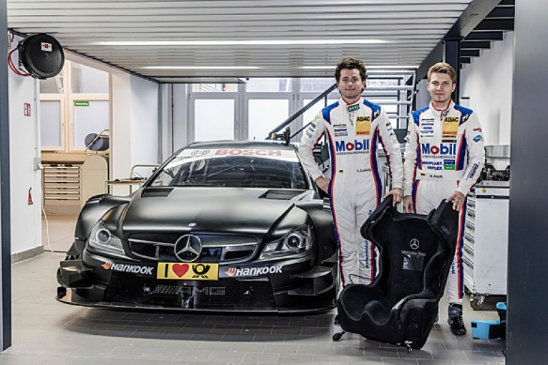 Klaus Ludwig and Roland Asch's sons get Mercedes DTM test