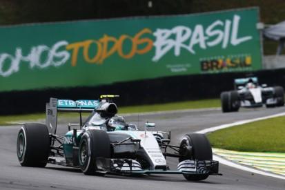 Talk of Mercedes F1 'changes' hurting Hamilton odd, says Rosberg