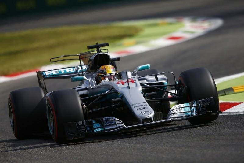 Italian GP FP1: Lewis Hamilton leads Mercedes 1-2 at Monza