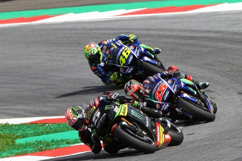 Valentino Rossi wants to see Tech3 pair on 2017 Yamaha MotoGP bike