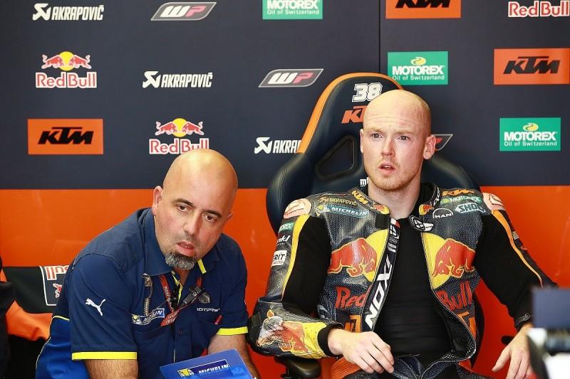 KTM MotoGP rider Smith admits Kallio form puts him under pressure