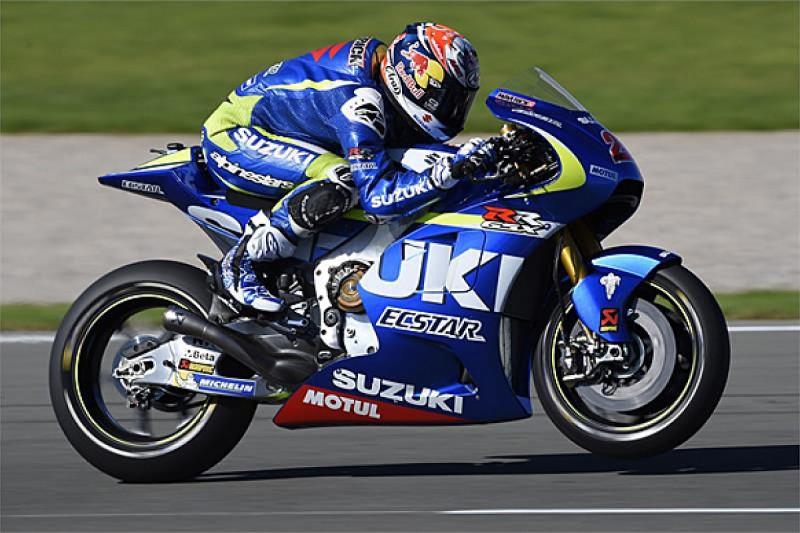 Suzuki MotoGP team tests seamless shift gearbox for first time