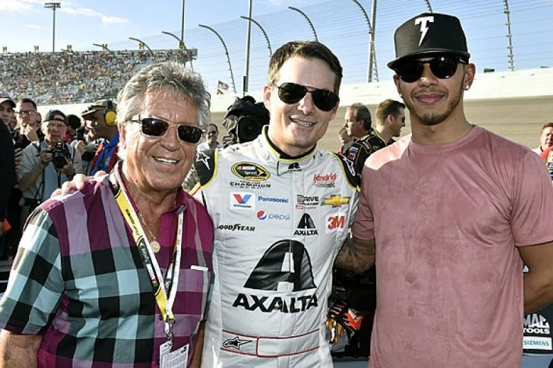 Jeff Gordon plays down Mario Andretti/Lewis Hamilton comparisons