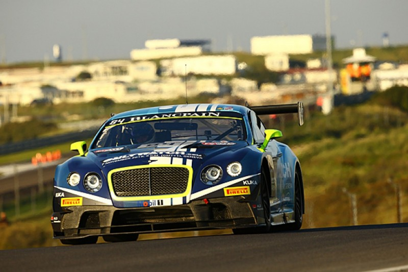 HTP Motorsport splits with Bentley after Blancpain Sprint title win