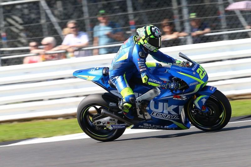 Iannone cannot solve problems with Suzuki's MotoGP bike