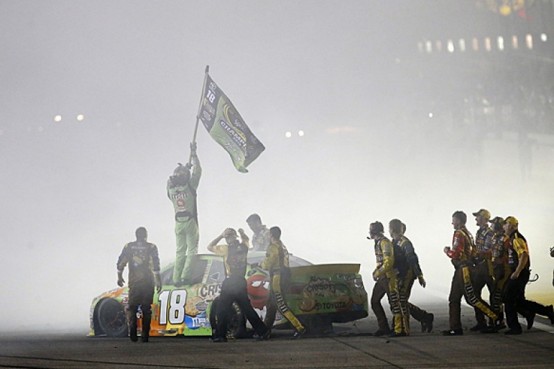 Homestead NASCAR: Kyle Busch claims first Cup title with win