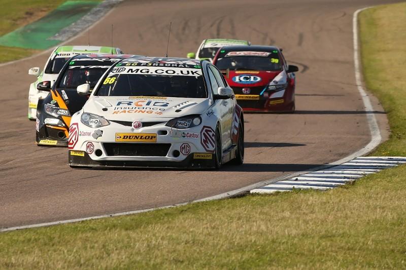 MG BTCC driver Josh Cook gets race ban after Rockingham clashes