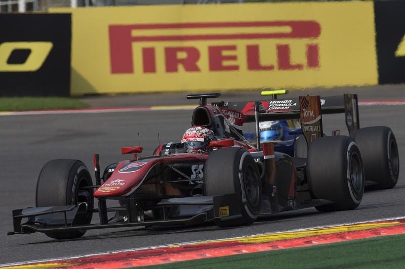 Eau Rouge Formula 2 crash 'biggest of my life' - Honda's Matsushita