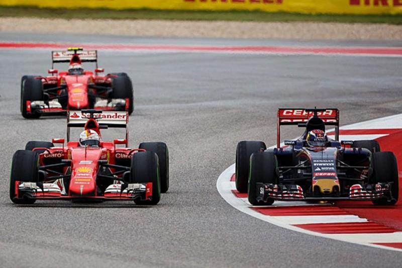 Sebastian Vettel surprised by Max Verstappen's rookie F1 season