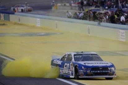 Roush Fenway's Buescher denies Elliot second NASCAR Xfinity title