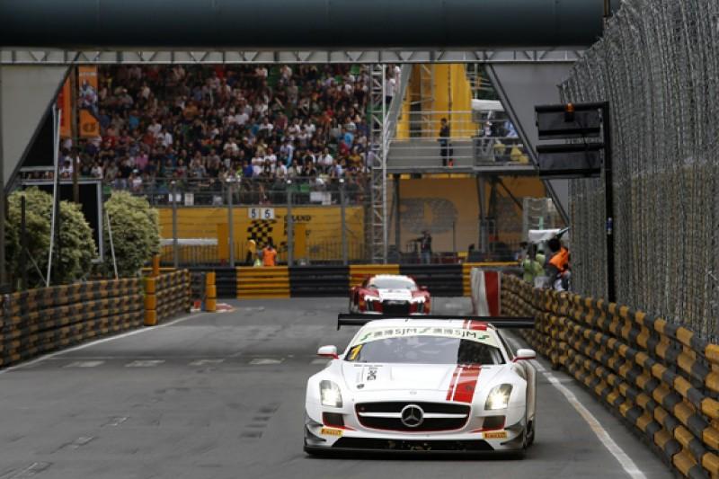 Mercedes driver Maro Engel wins inaugural GT World Cup in Macau