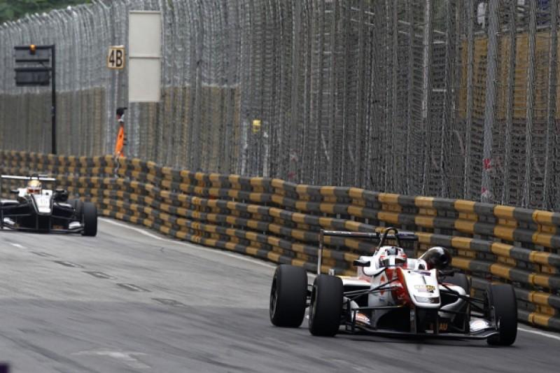 F3 Macau GP: Rosenqvist holds off Leclerc to become dual winner