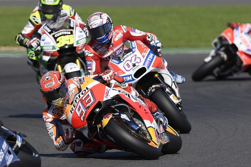 MotoGP title Marc Marquez's first thought in Silverstone failure