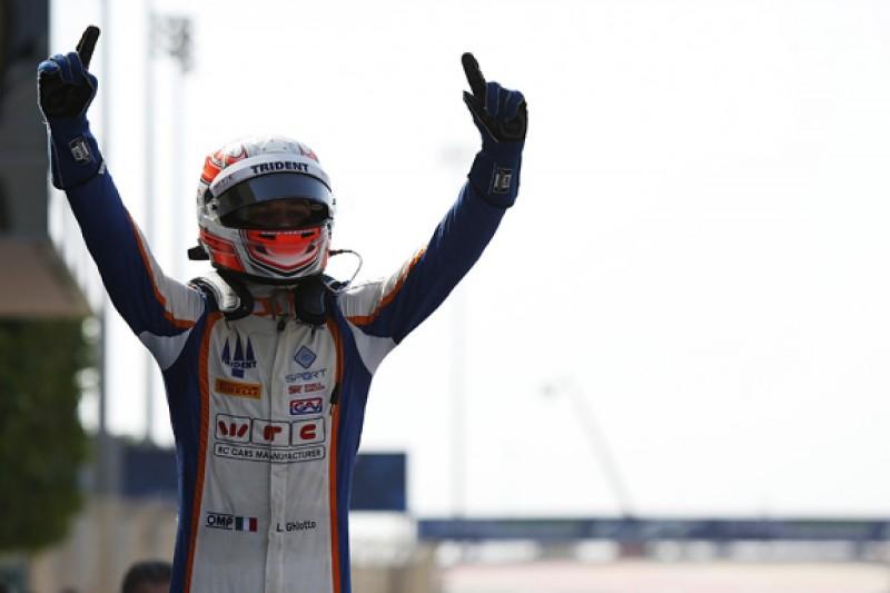 Bahrain GP3: Luca Ghiotto beats Esteban Ocon to reclaim points lead