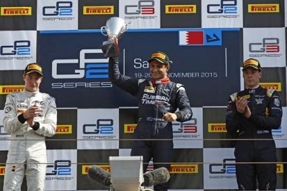 Bahrain GP2: Evans wins sprint race ahead of Vandoorne and Lynn