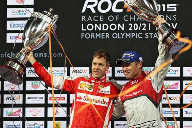 Race Of Champions: Ferrari F1 driver Sebastian Vettel wins final