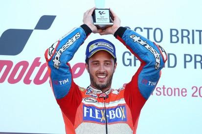 Silverstone MotoGP: Andrea Dovizioso wins as Marc Marquez retires