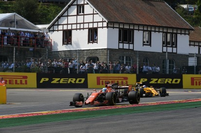 Palmer: Alonso deserved penalty for Magnussen-style Spa move