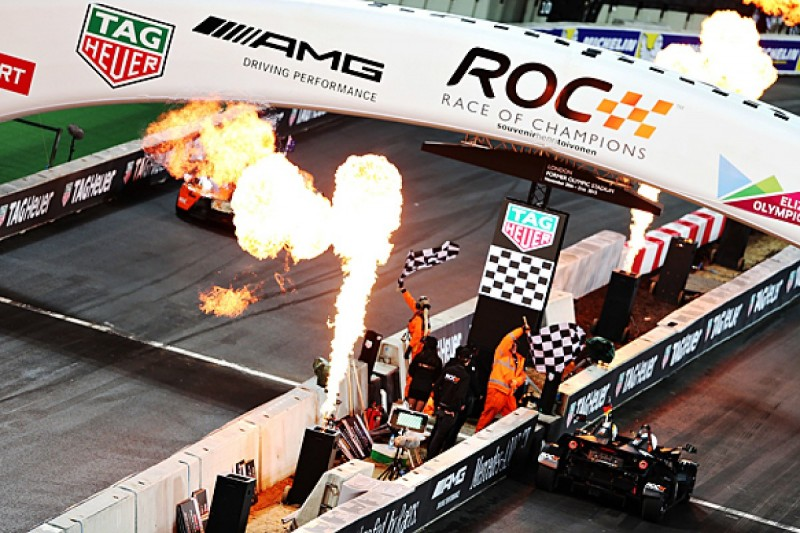 Race Of Champions Nations' Cup: Priaulx/Plato beat German F1 pair