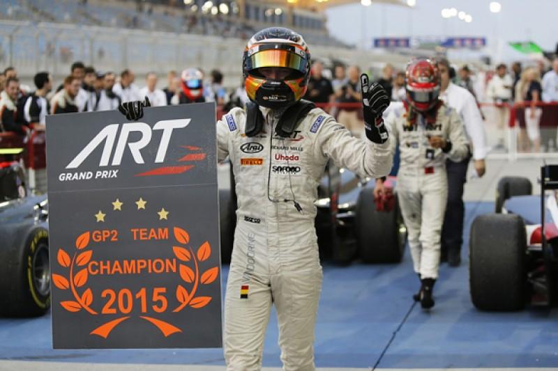 Bahrain GP2: Vandoorne takes sixth win, ART secures teams' title