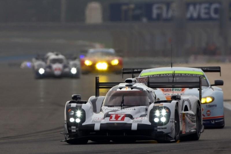 Bahrain WEC: #17 Porsche leads both Audis in first practice