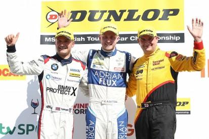 Rockingham BTCC: Ash Sutton extends points lead with sixth win