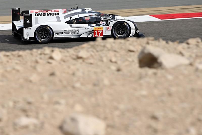 Bahrain WEC: Brendon Hartley leads final practice for Porsche